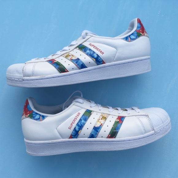 online store d77d2 d1f25 Tropical Print Adidas